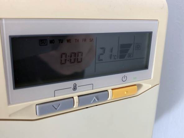 Detalle - Aire acondicionado